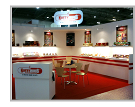 Nutty Nuts Exhibition Stand