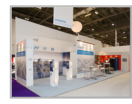 Smiths Detection Exhibition Stand